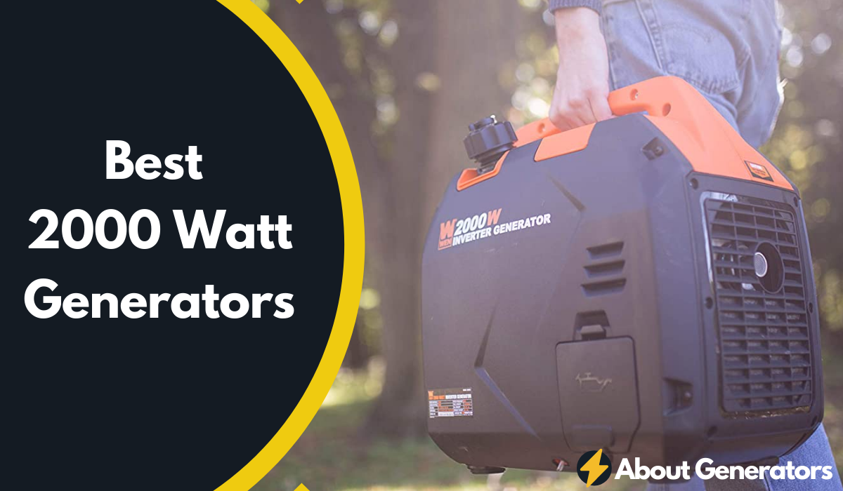 Best 2000 Watt Generators