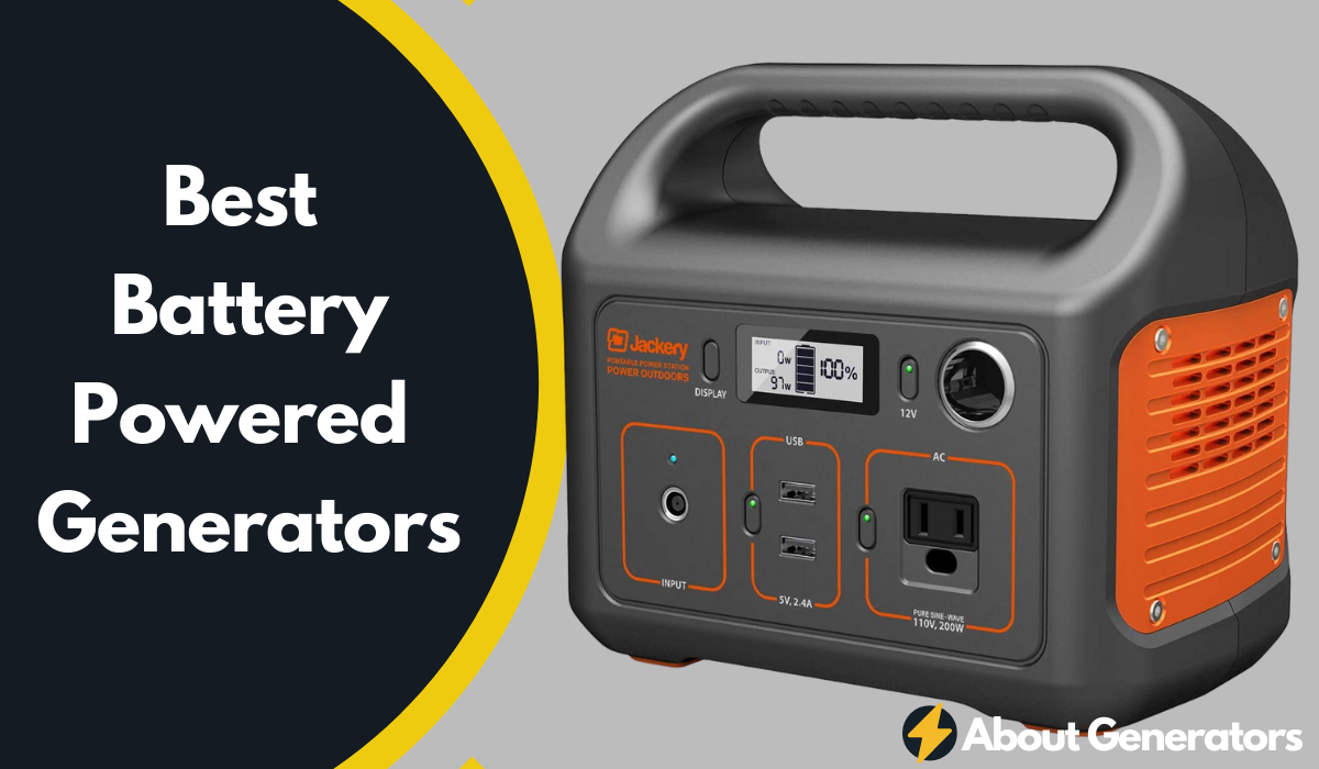 Best Battery Powered Generators