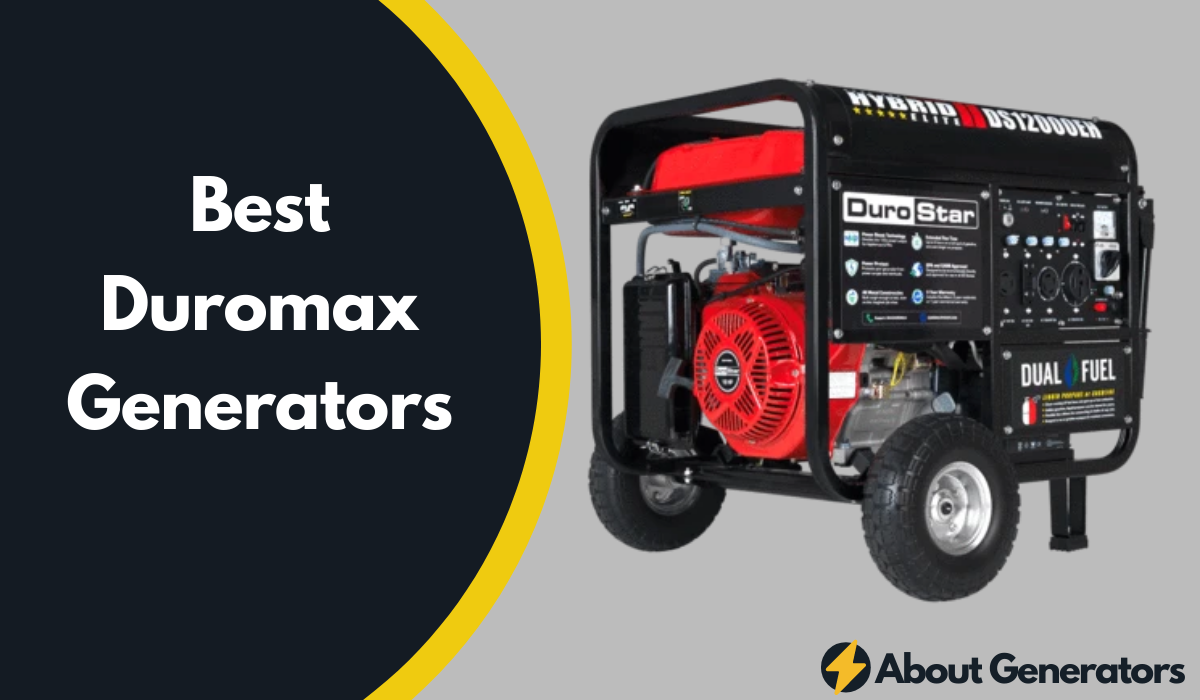 Best Duromax Generators
