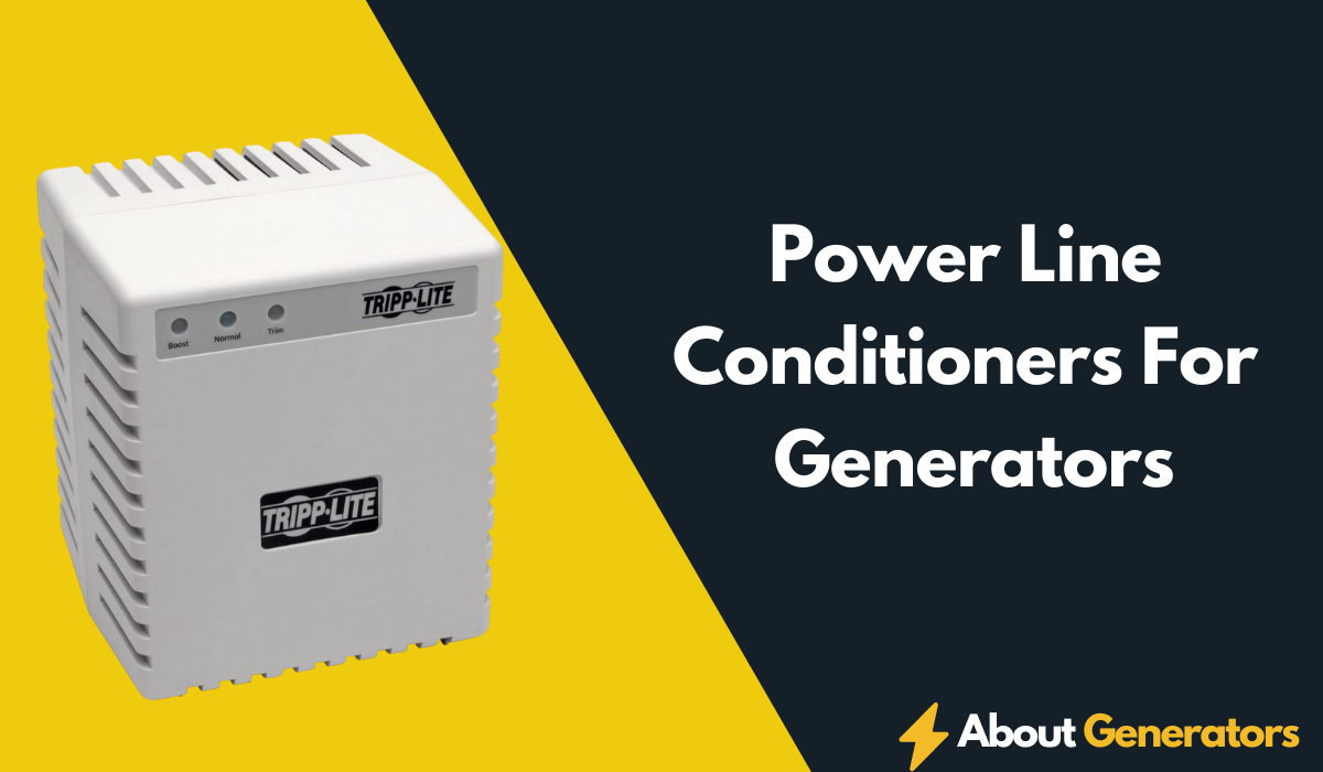 Power Line Conditioners For Generators