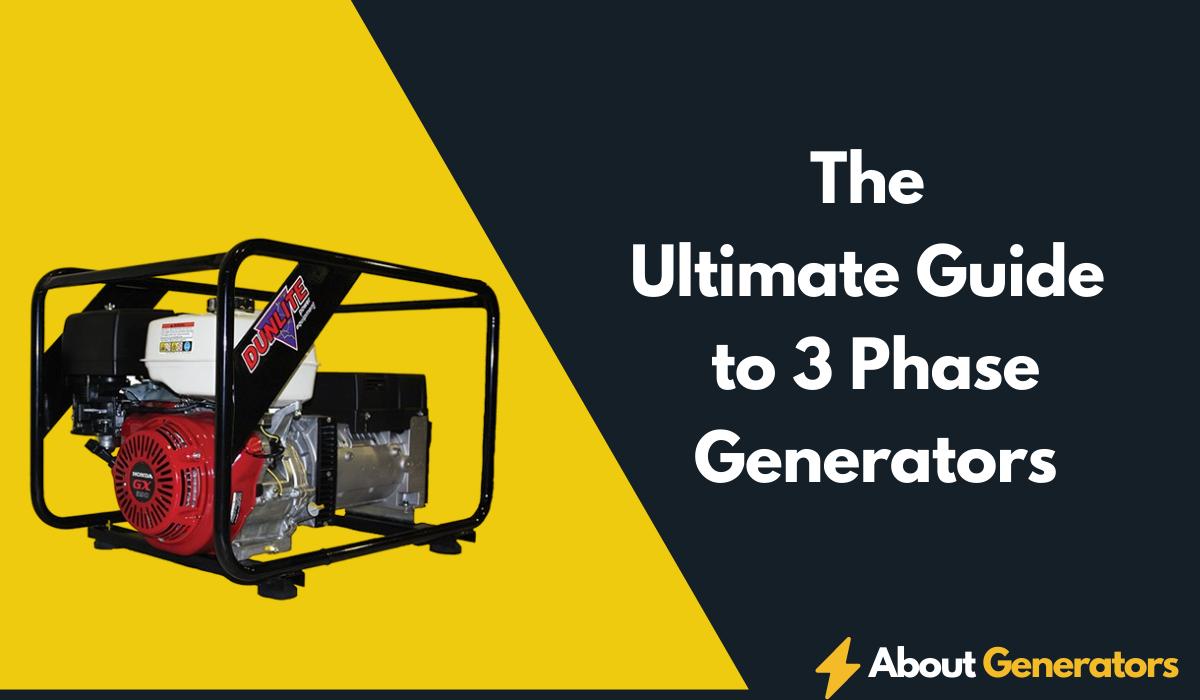 3 Phase Generators